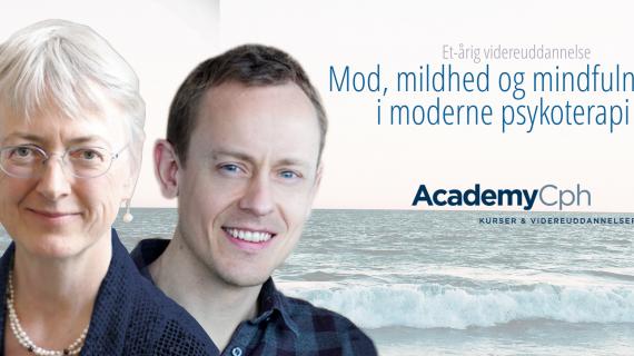 Mod, mildhed og mindfulness i moderne psykoterapi – et-årig videreuddannelse